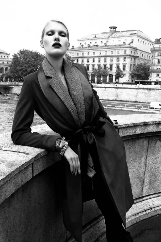 Photo Yulia Terentieva by Djamel Boucly for The Fashionography