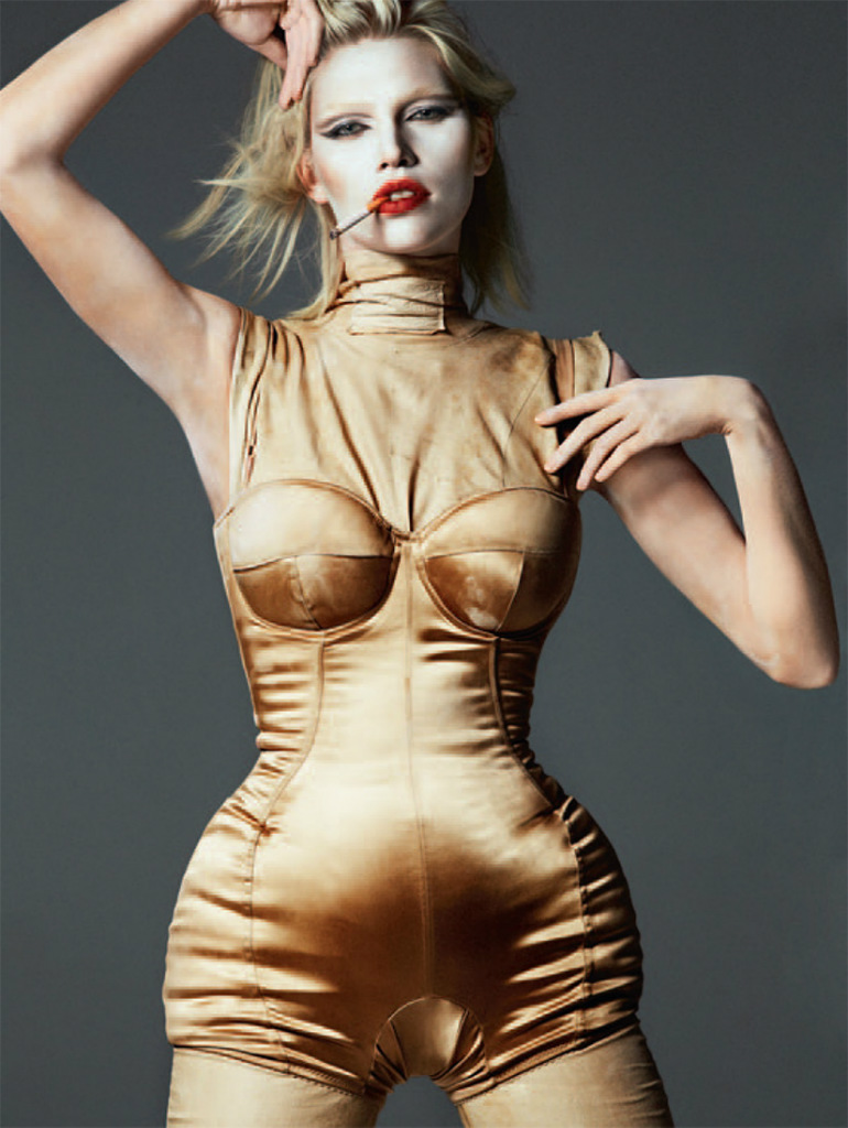 Photo Aline Weber by Txema Yeste for Tush Magazine Fall 2013