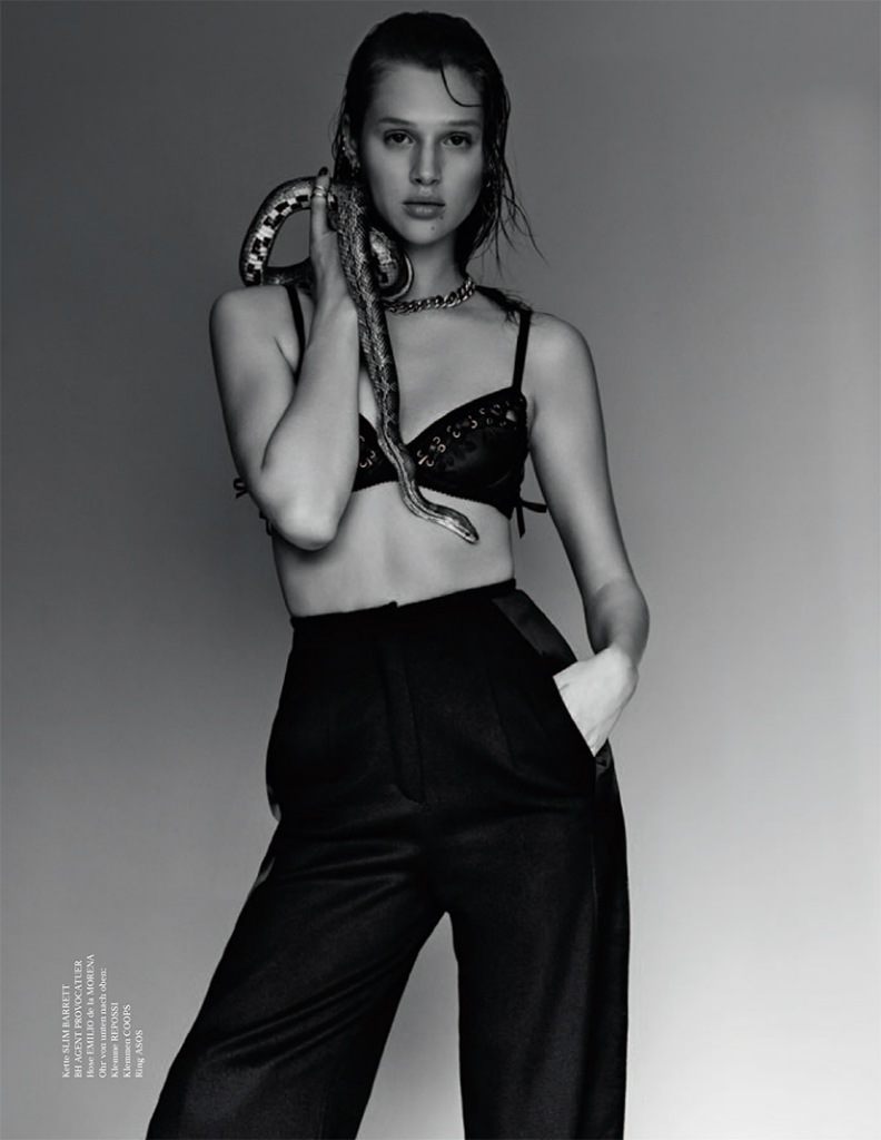 Photo Anais Pouliot by Jeff Hahn for Tush Magazine Fall 2013