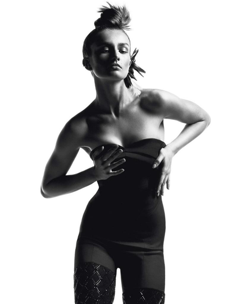 Photo Andreea Diaconu by Inez & Vinoodh for Vogue Paris October 2013