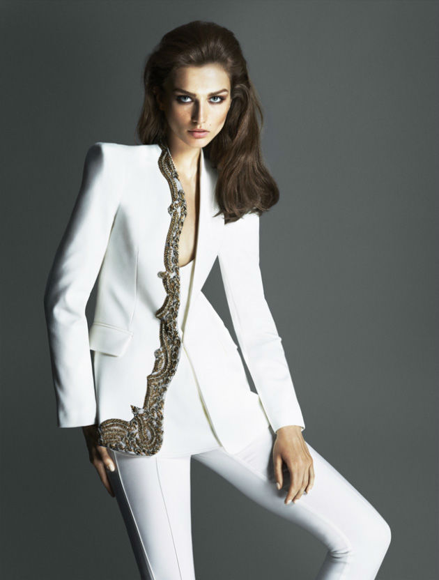 Photo Andreea Diaconu by Mert & Marcus for Ipekyol Fall/Winter 2013/2014 Campaign