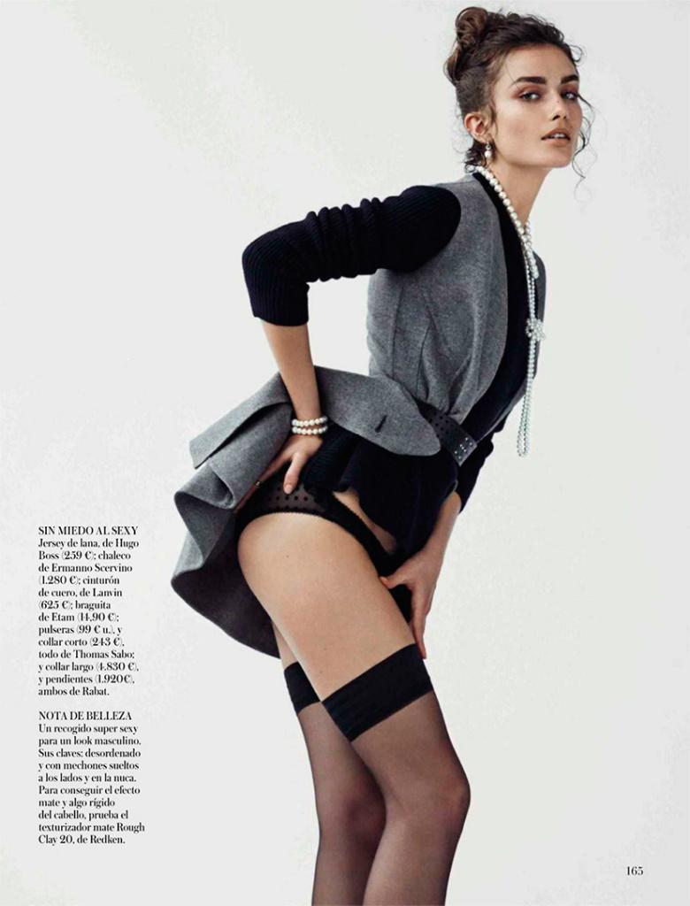 Photo Andreea Diaconu for Vogue Spain October 2013 by Mariano Vivanco