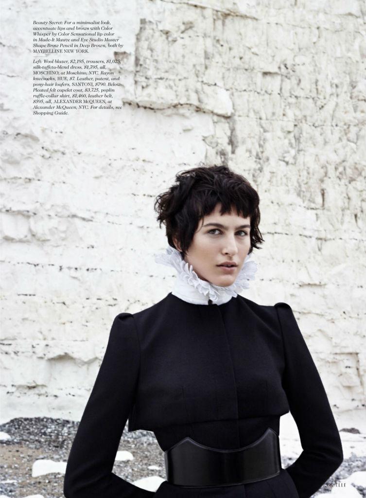 Photo Athena Wilson by Horst Diekgerdes for Elle US October 2013