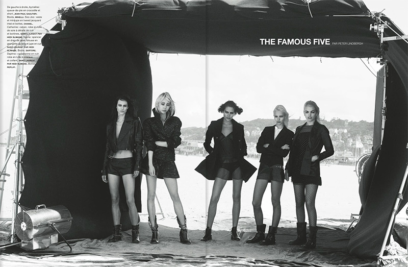 Photo Aymeline, Soo Joo, Sasha, Catherine & Daphne for Numero Magazine October 2013