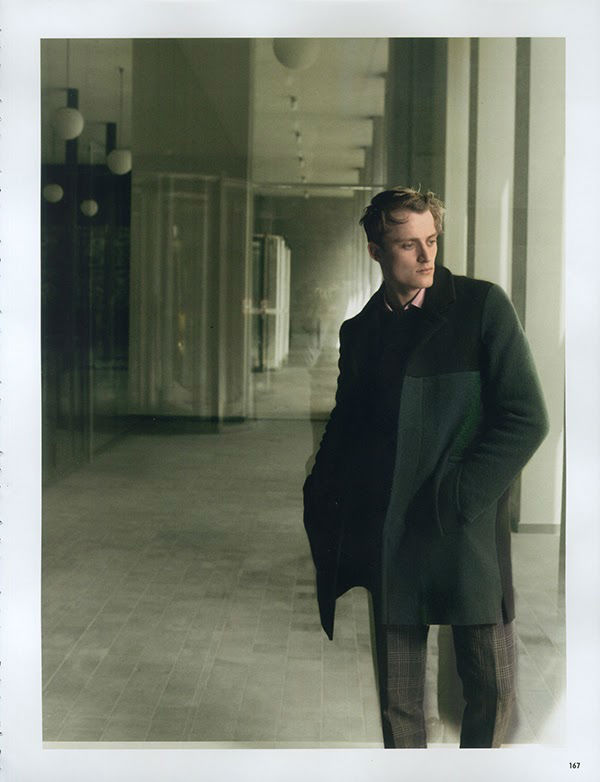 Photo Bastiaan Van Gaalen by Serge Leblon for 10 MEN Autumn 2013