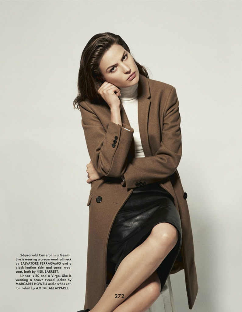 Photo Cameron Russell & Linnea Russell for The Gentlewoman Fall 2013