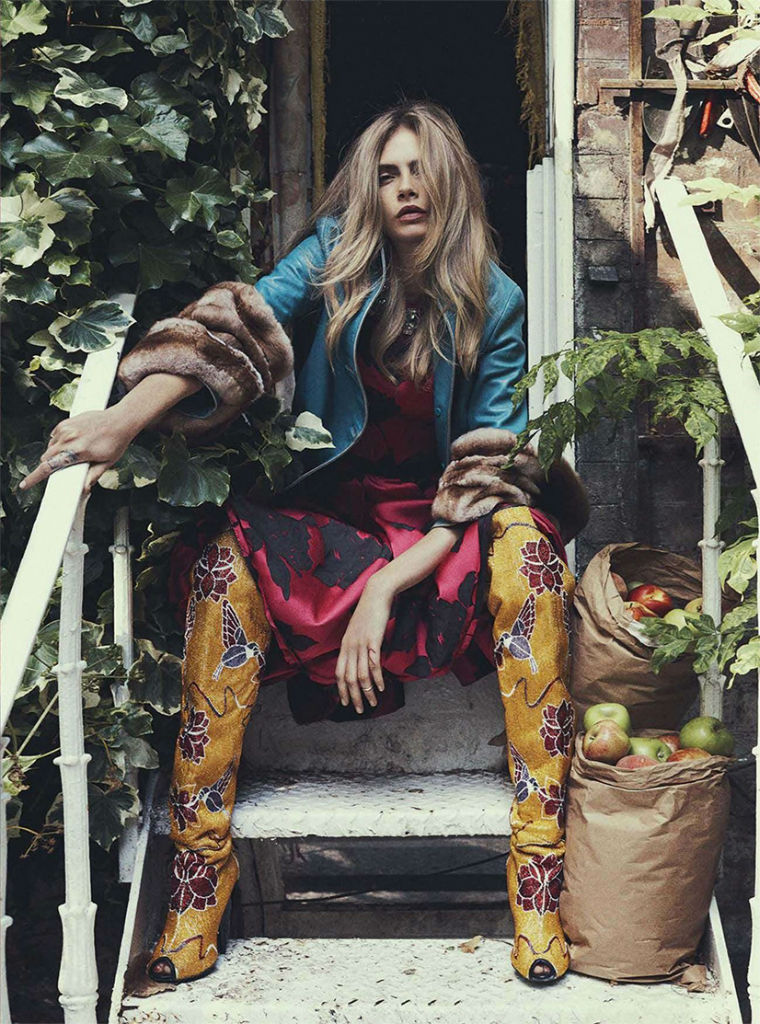 Photo Cara Delevingne by Benny Horne for Vogue Australia October 2013