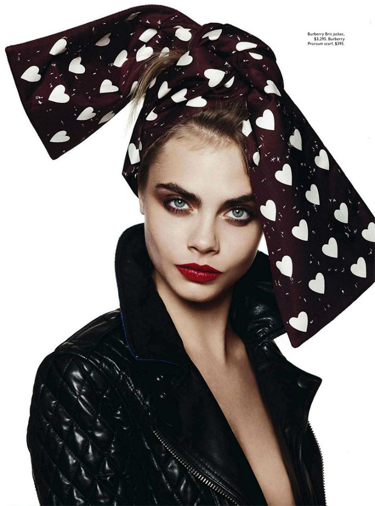 Photo Cara Delevingne for Vogue Australia October 2013