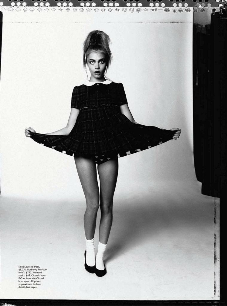 Cara Delevingne For Vogue Australia October 2013 The
