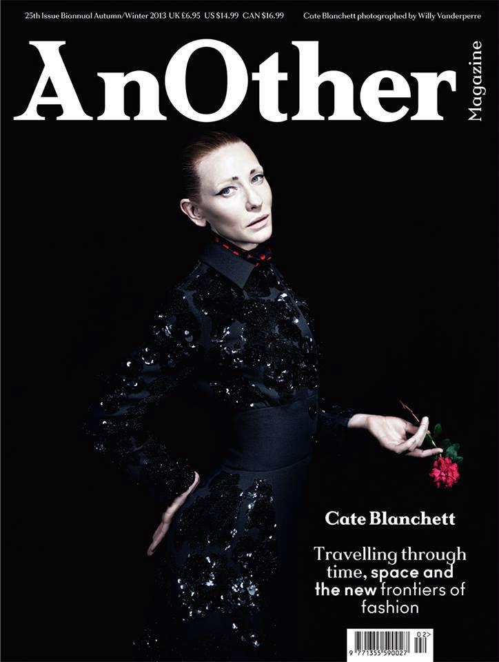 Photo Cate Blanchett AnOther Magazine Fall/Winter 2013/2014