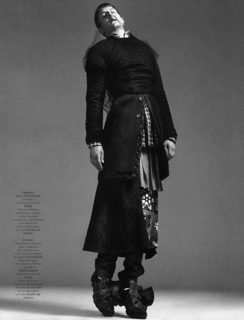 Photo Chris Beek by Willy Vanderperre for Vogue Hommes International Fall/Winter 2013/2014