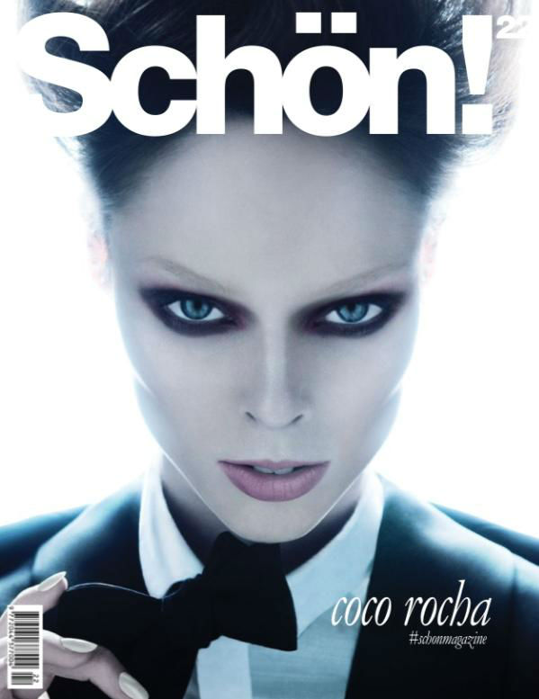 Photo Coco Rocha for Schön September 2013