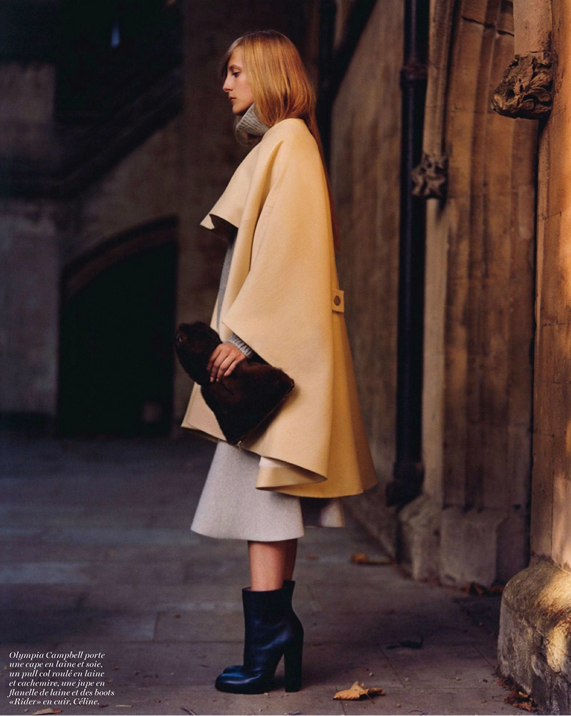 Photo Edie Campbell & Olympia Campbell for Vogue Paris October 2013