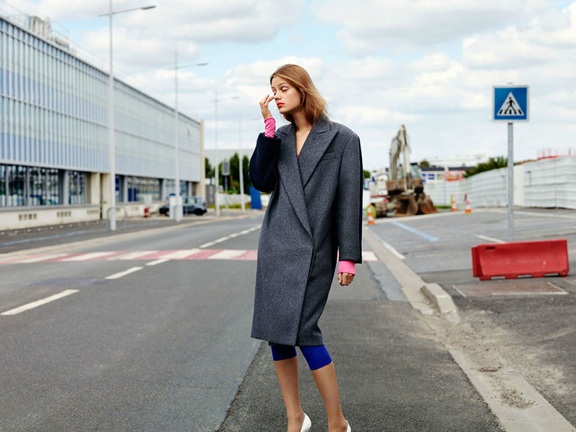 Photo Esther Heesch by Laurence Ellis for Garage Magazine Fall/Winter 2013/2014