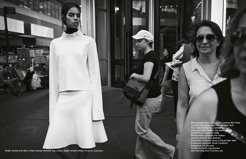 Photo Grace Mahary for Bon Magazine Fall/Winter 2013/2014