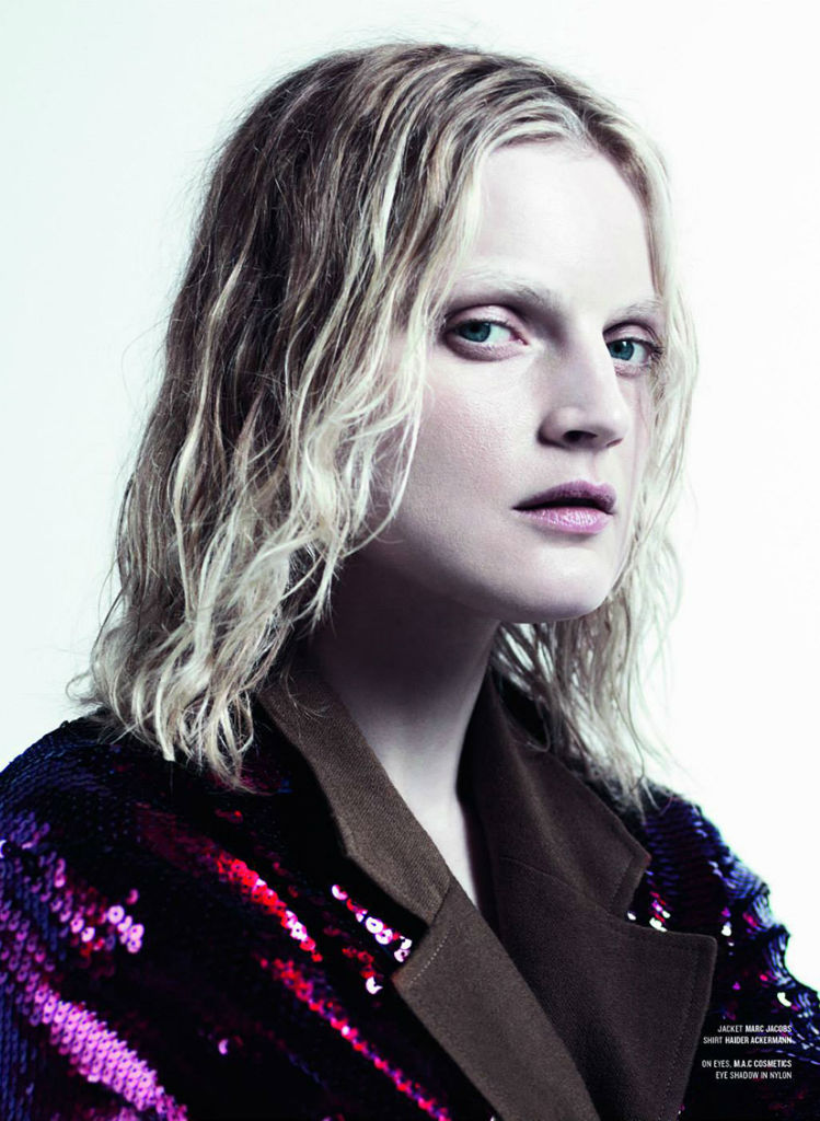 Photo Guinevere van Seenus for V Magazine Fall 2013 by Willy Vanderperre