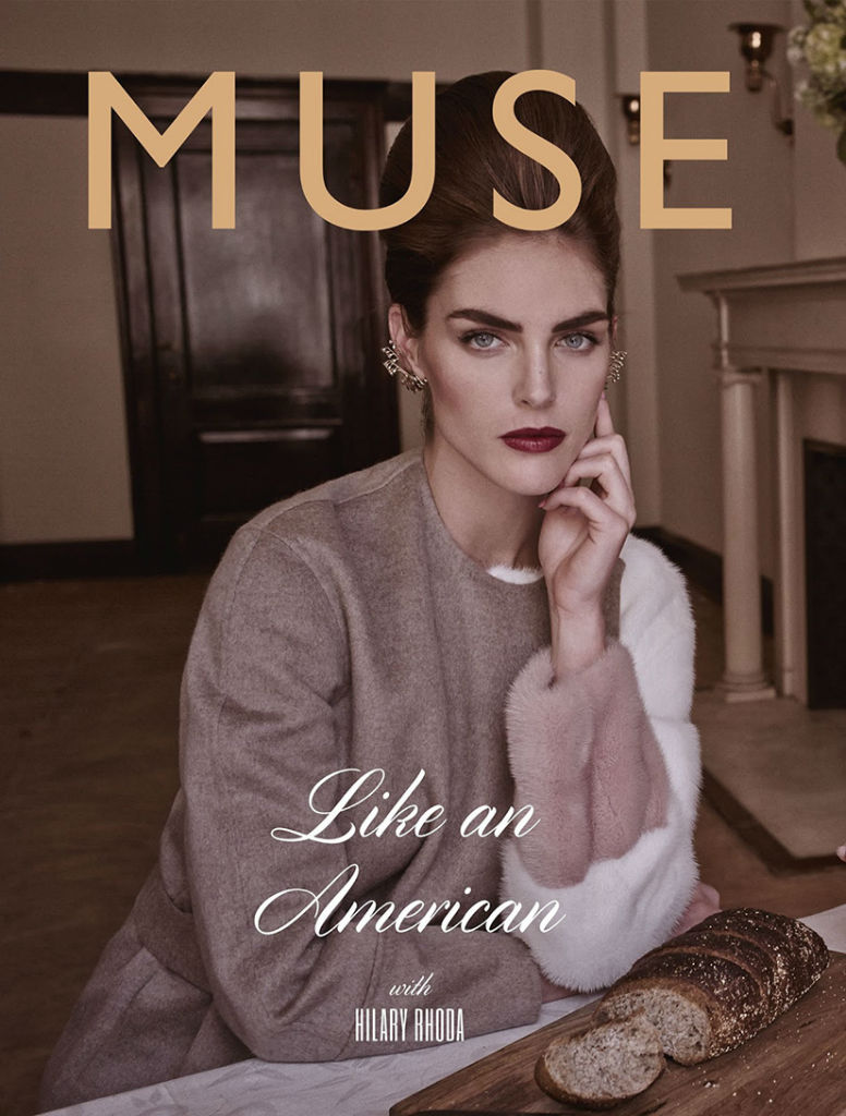 Photo Hilary Rhoda by Mariano Vivanco for Muse Magazine Fall 2013 Cover