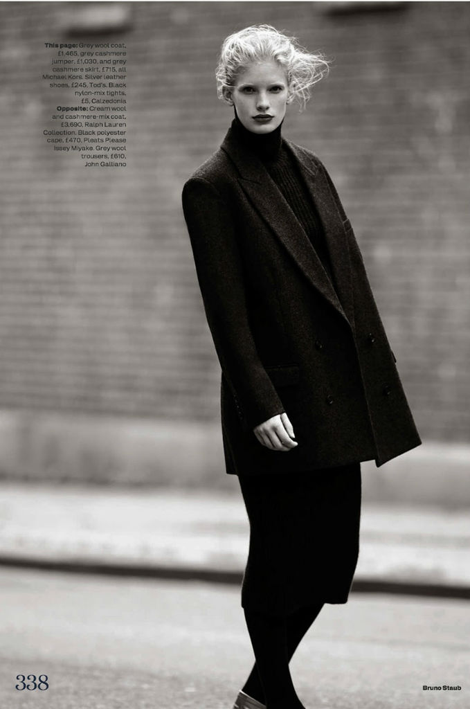 Photo Ilse De Boer for Elle UK October 2013 by Bruno Staub