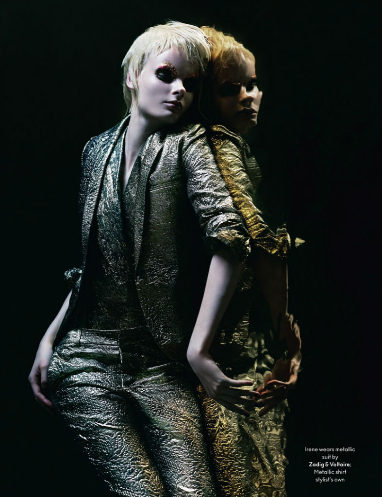 Photo Irene Hiemstra & Lisa Verberght for AnOther Magazine Fall/Winter 2013/2014