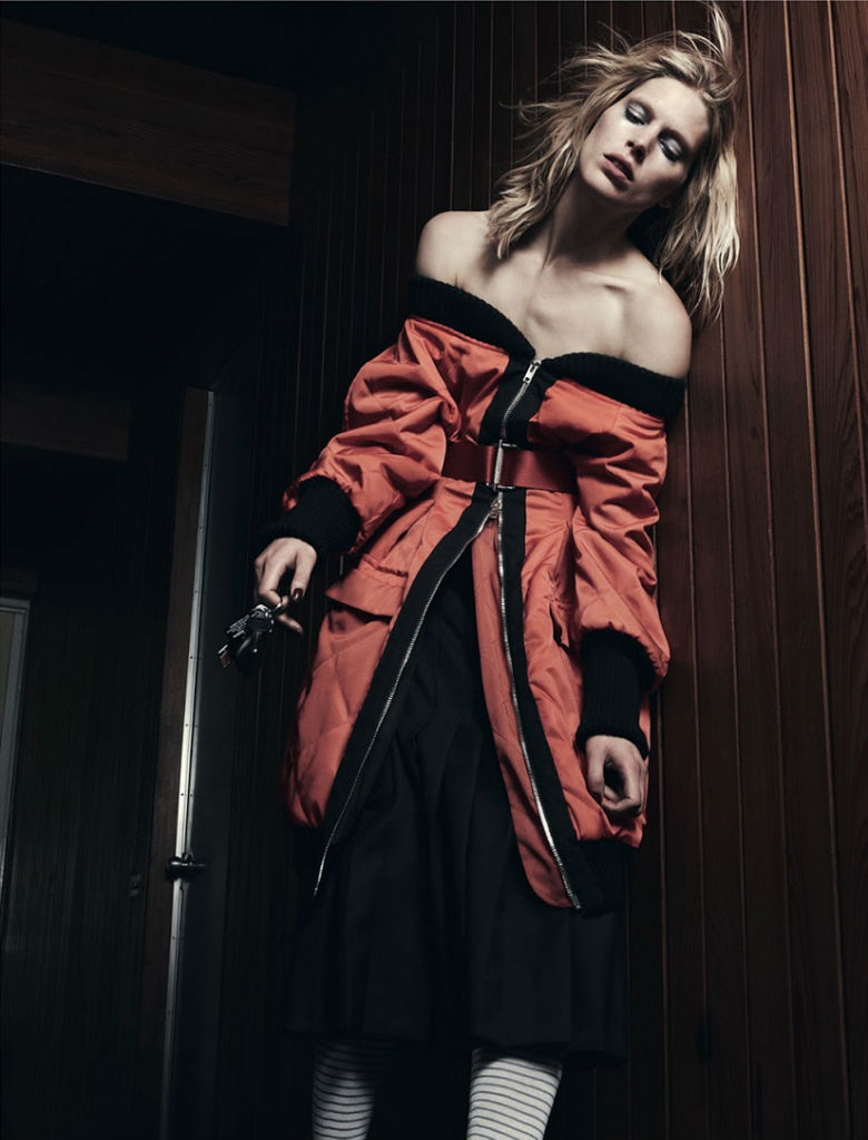 Photo Iselin Steiro by Daniel Jackson for AnOther Magazine Fall/Winter 2013/2014