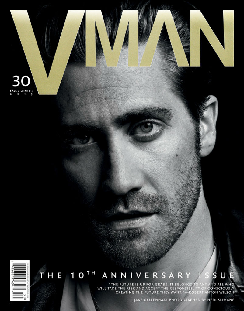 Photo Jake Gyllenhaal for V Magazine Man Fall/Winter 2013/2014 Cover