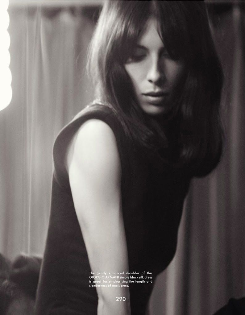 Photo Jamie Bochert by Glen Luchford for The Gentlewoman Fall/Winter 2013/2014