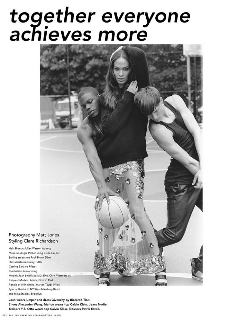 Photo Joan Smalls by Matt Jones for i D Magazine October 2013