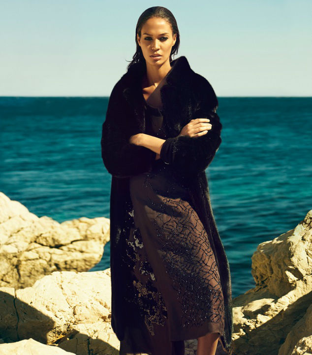 Photo Joan Smalls for Vogue Japan October 2013 by Sean & Seng