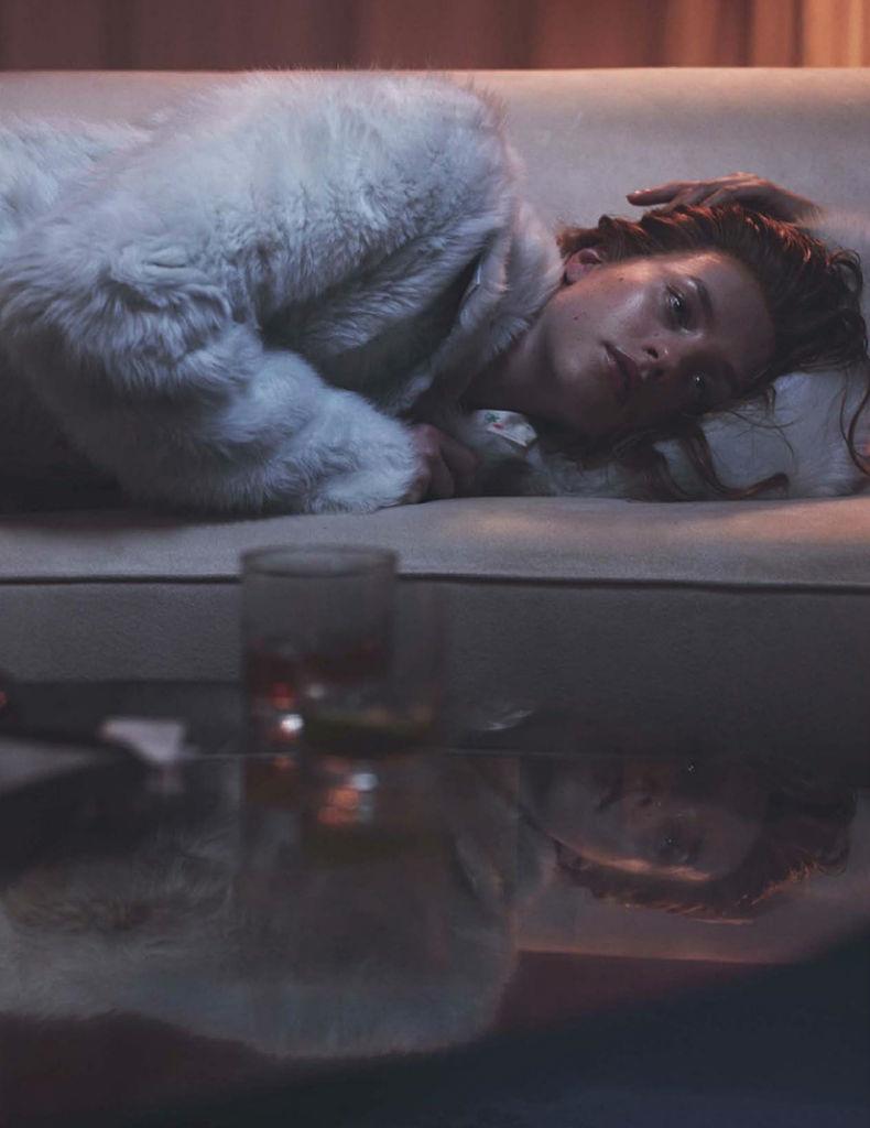 Photo Julia Frauche by Benjamin Lennox for Numero September 2013