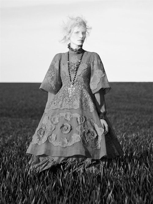 Photo Julia Nobis by Ben Toms for AnOther Magazine Issue 25