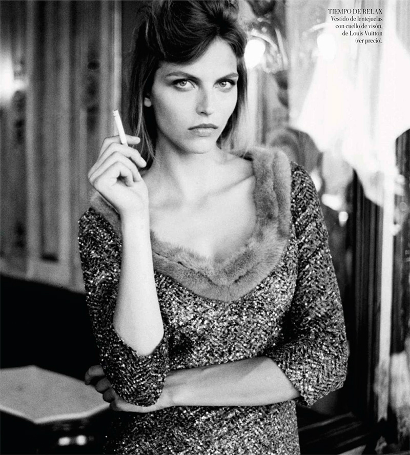 Photo Karlina Caune for Vogue Spain October 2013 by Quentin de Briey