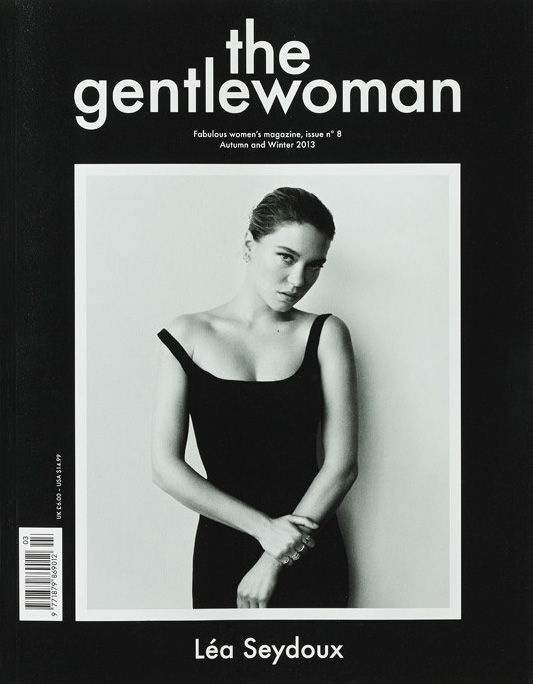 Photo Lea Seydoux by Zoe Ghertner for The Gentlewoman Fall/Winter 2013/2014 Cover