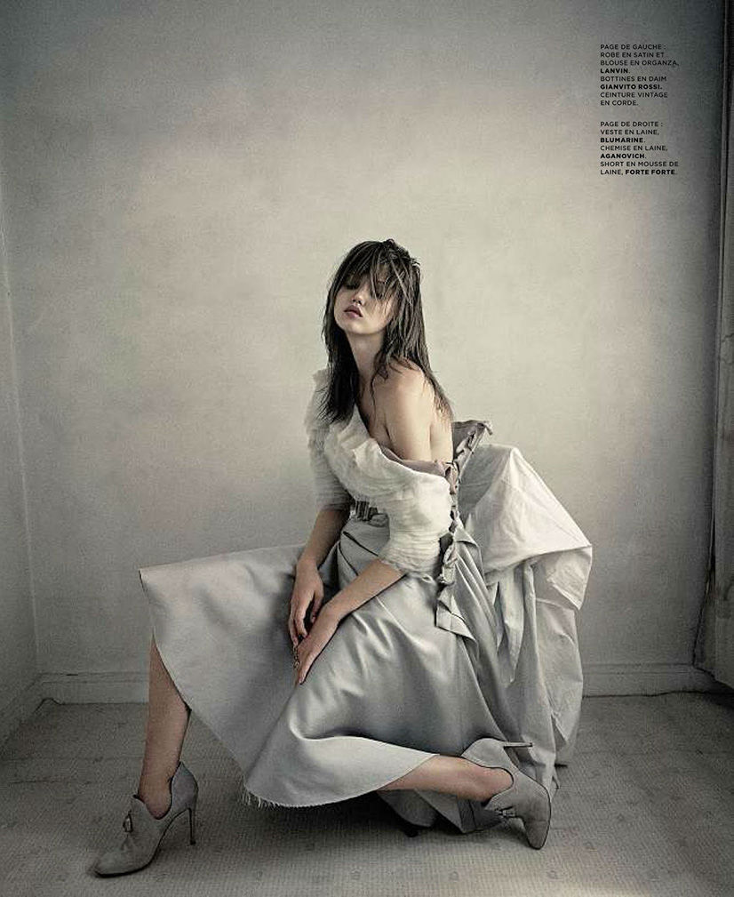 Photo Lindsey Wixson by Paolo Roversi for M Le Monde September 2013