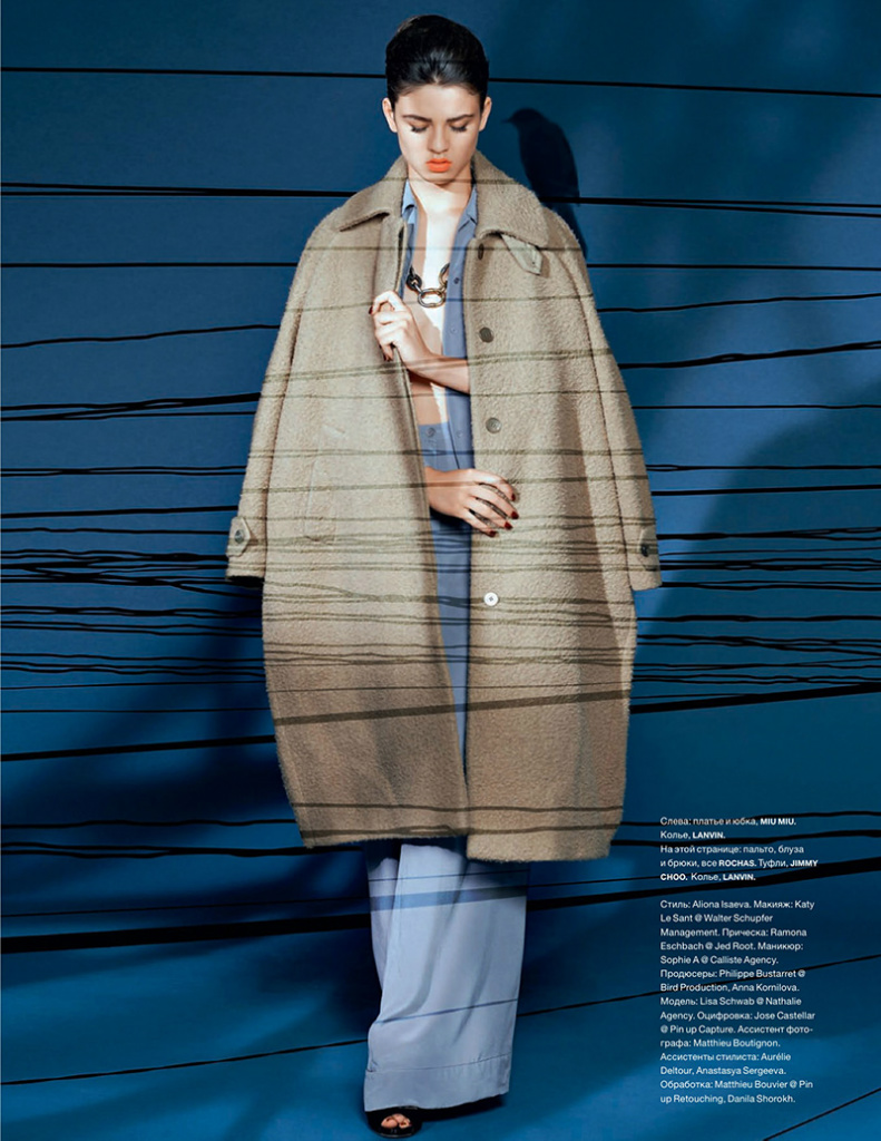 Photo Lisa Schwab by Camille Vivier for Numero Magazine Russia September 2013