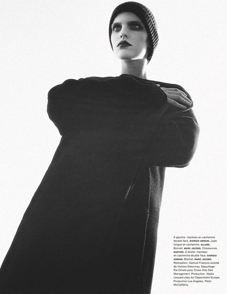 Photo Lisa Verberght by Sofia Sanchez & Mauro Mongiello for Numéro September 2013