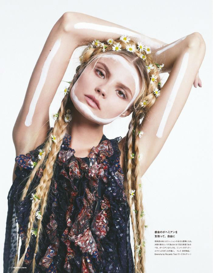Photo Magdalena Frackowiak by Sofia & Mauro for Numero Tokyo October 2013