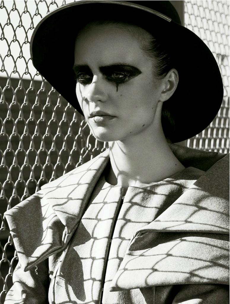Photo Marta Dyks by Johan Sandberg for Stylist Magazine France No.19 September 2013