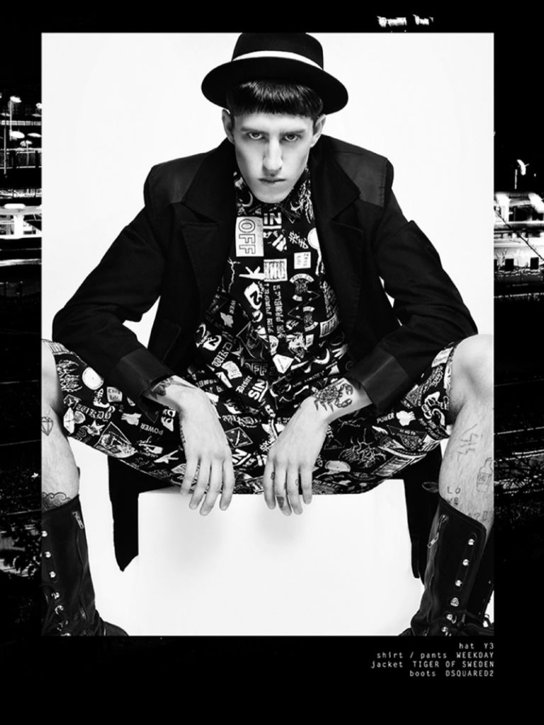 Photo Miles Langford by Vincenzo Laera for Superior Magazine Issue 2