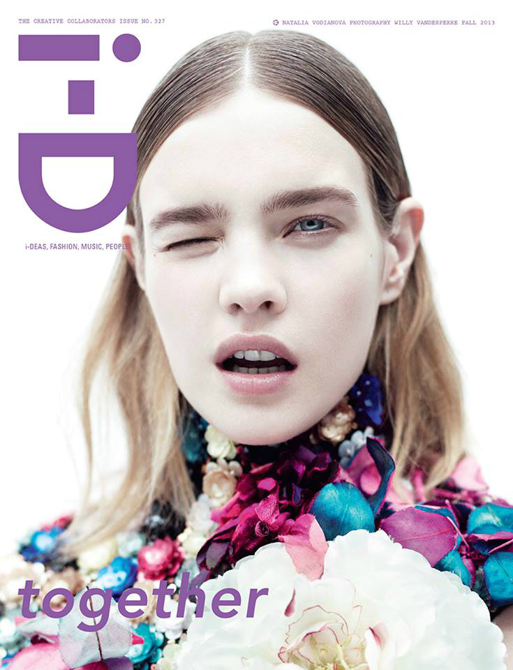 Photo Natalia Vodianova by Willy Vanderperre for i D Magazine Fall 2013