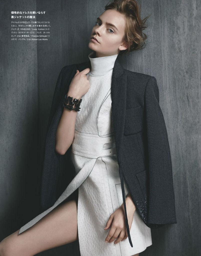 Photo Nimue Smit by Santiago & Mauricio Sierra for Numéro Tokyo October 2013