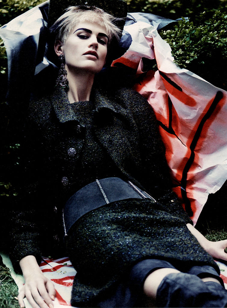Photo Saskia de Brauw by Craig McDean for W Magazine October 2013