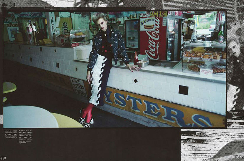 Photo Sigrid Agren by Laurie Bartley for Garage Magazine Issue 5