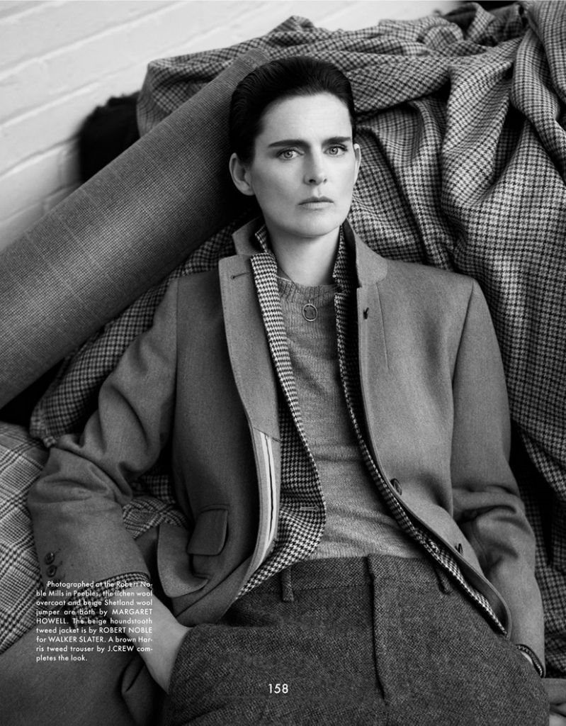 Photo Stella Tennant for The Gentlewoman Fall Winter 2013 2014 by Benjamin Alexander Huseby