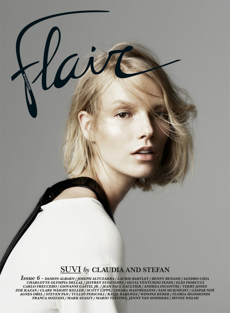Photo Suvi Koponen by Claudia & Stefan for Flair Magazine No.6 Cover