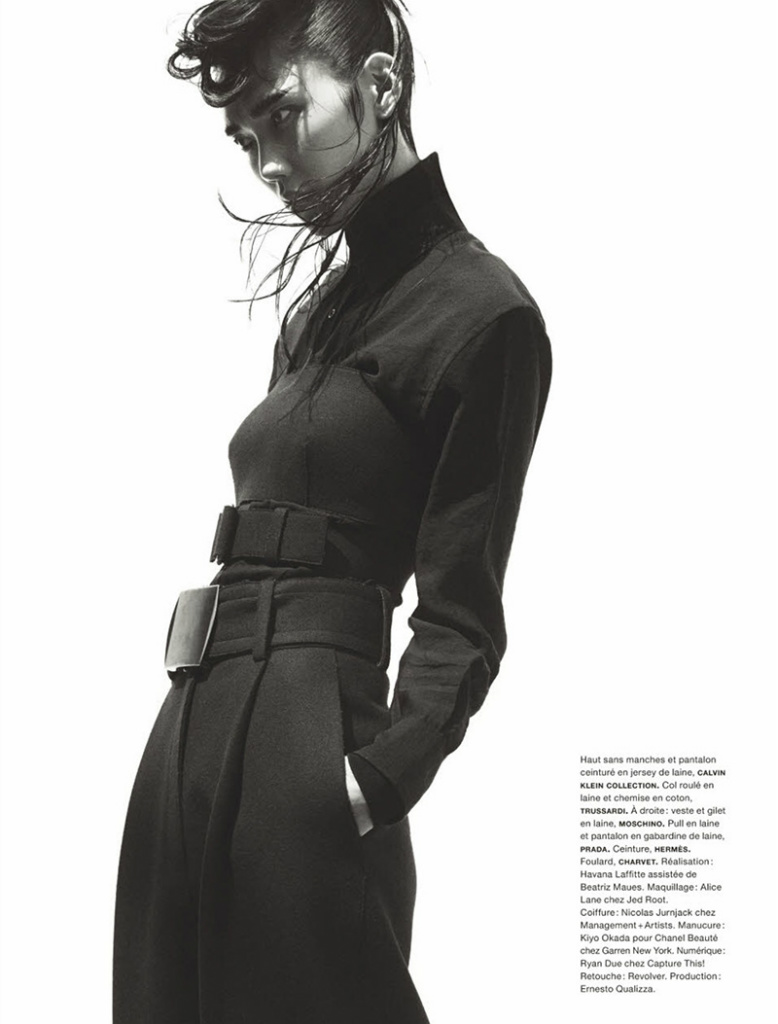 Photo Tao Okamoto by Greg Kadel for Numero Magazine October 2013
