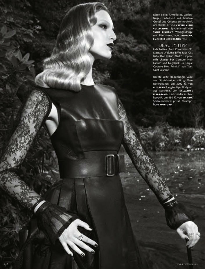 Photo Vanessa Axente by Luigi & Daniele + Iango for Vogue Germany October 2013