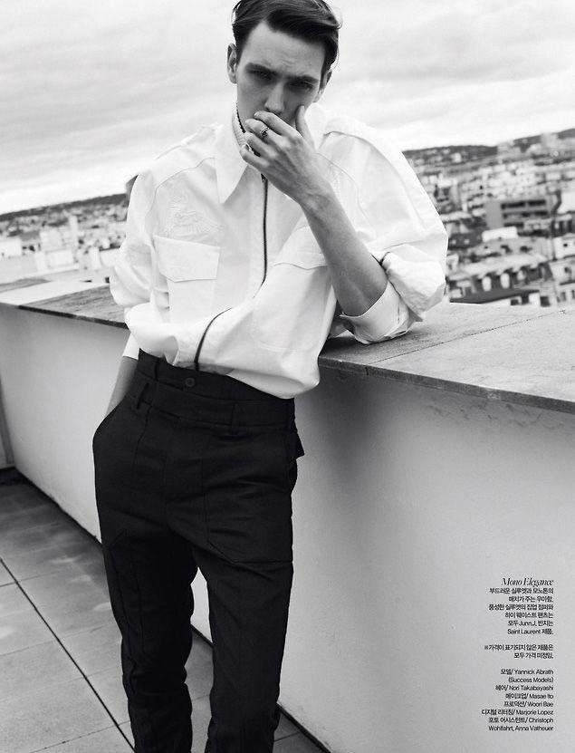 Photo Yannick Abrath for Harpers Bazaar Man Korea September 2013
