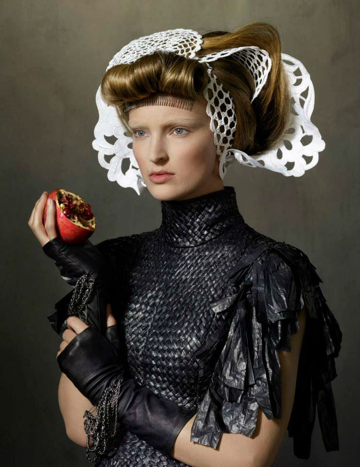 Photo Ymre Stiekema for Vogue Netherlands October 2013 by Erwin Olaf