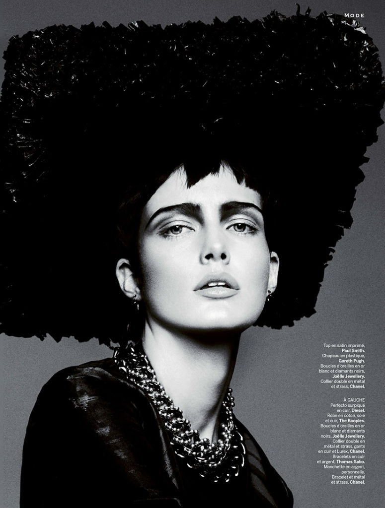 Photo Zlata Mangafic for Stylist France August 29th 2013 by Txema Yeste