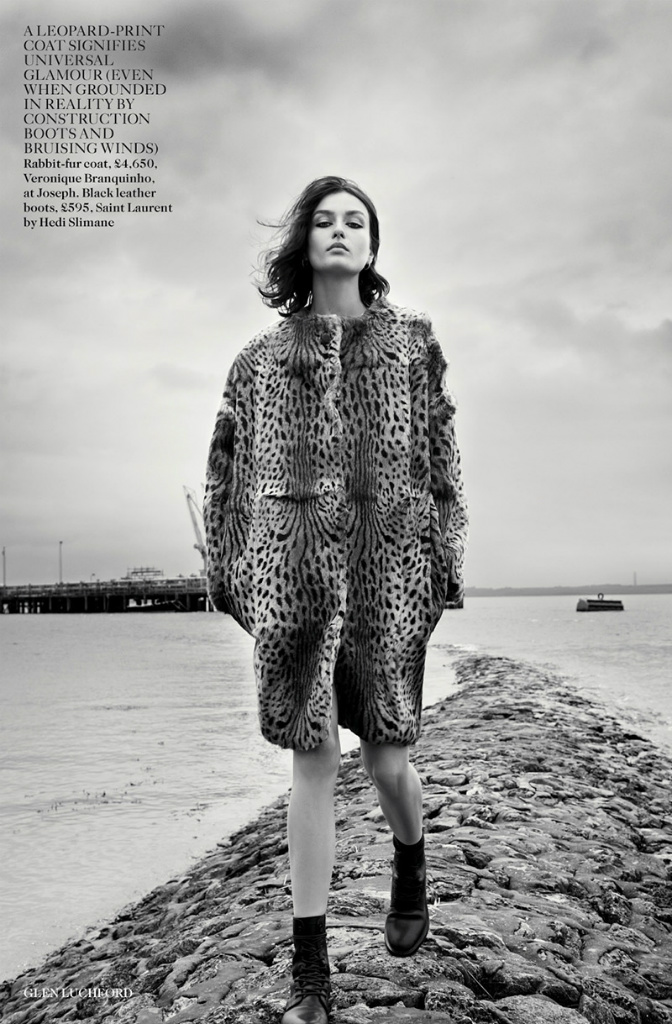 Andreea Diaconu by Glen Luchford for Vogue UK November 2013